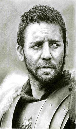 Russell Crowe par leiaskywalker83